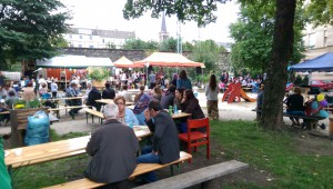Anwohnerfest auf dem Bodelschwinghplatz