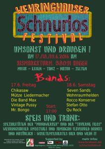 Wehringhauser Schnurlos Festival 2016